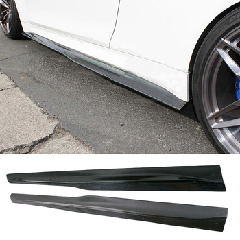 PS-M Style Carbon fiber Side skirts 1Pair Fit For BMW F82 F83 M4