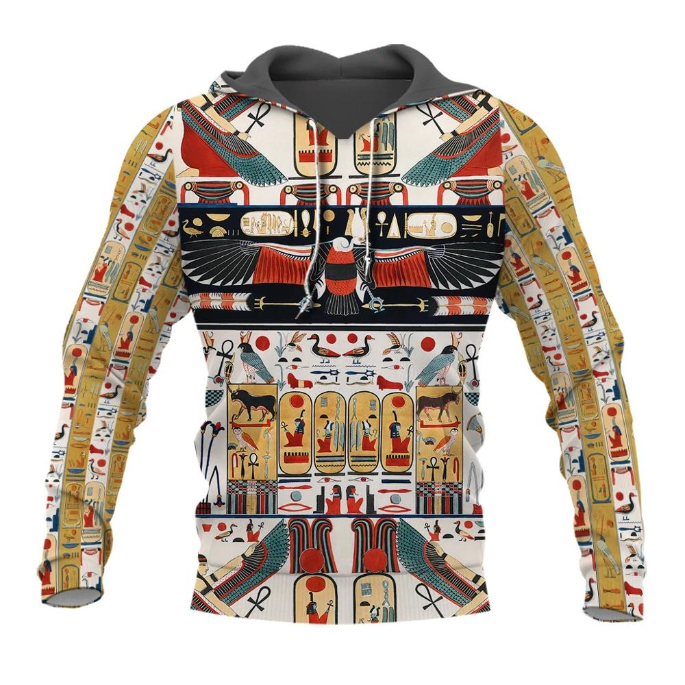 PLstar Cosmos Mysterious Retro Ancient Egypt Pharaoh Totem 3d Hoodies/Sweatshirt Winter Autumn Funny Long Selvee Streetwear-3