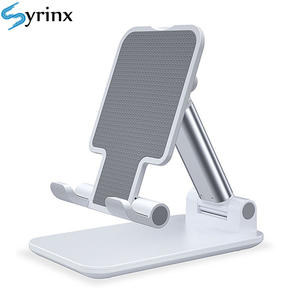 Stand Table-Cell Desk Extend-Support Mobile-Phone-Holder Foldable Metal iPad iPhone