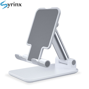 2020 Metal Desktop Tablet Holder Table Cell Foldable Extend Support Desk Mobile Phone Holder Stand For iPhone iPad Adjustable(China)