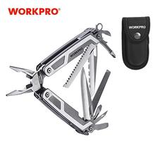 WORKPRO Multi Tools Multifunctional Plier 16 in1 Stainless Steel Plier Outdoor Camping Tool New arrival