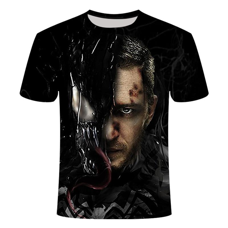 "Новинка, Мужская Футболка Venom, футболка ""Марвел"", 3D принт, футболка s, мужская, женская, Повседневная футболка, футболка для фитнеса, футболки, топы - Цвет: TX-157"