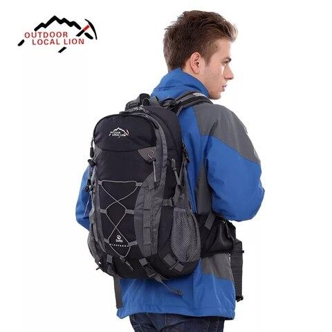 40l ao ar livre mochila de escalada multifuncional impermeavel duravel mochilas ao ar livre acampamento
