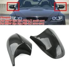 Cubierta de espejo lateral para Bmw, tapa de fibra de carbono M3 modificada, E90, E91, E92, E93, 2 uds.