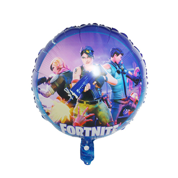 18 Inch Fortnite Game Foil Balloon Esports Carnival Game Party Decoration Reusable Balloon Kid Birthday Toys Gift 45CM 2