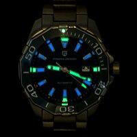 DIDUN Men Watches Top Brand Luxury Quartz Watch Rosegolden Male Fashion Business Watch 30m Waterproof Luminous Wristwatch
