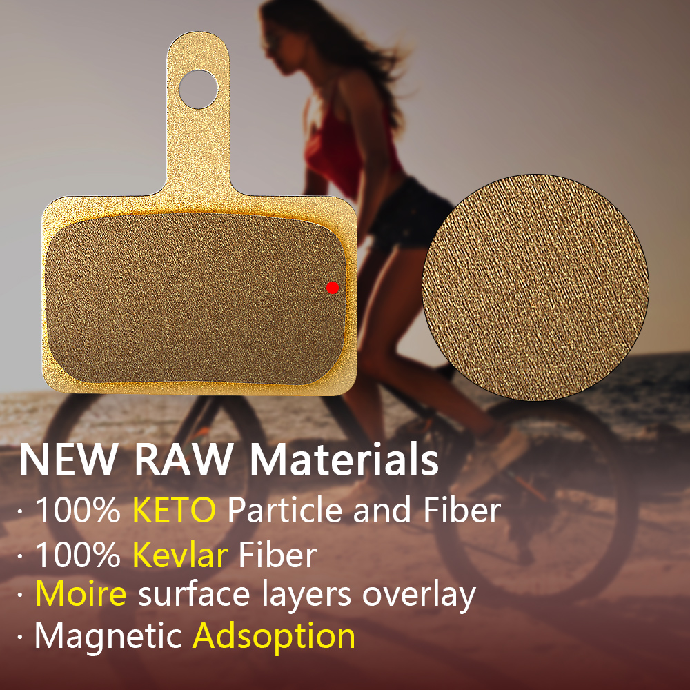 Moire KETO Material Professional B01S M375 M395 M416 M445 M446 M485 M486 M515 M525 Orion Auriga Ceramics Disc Brake Pads