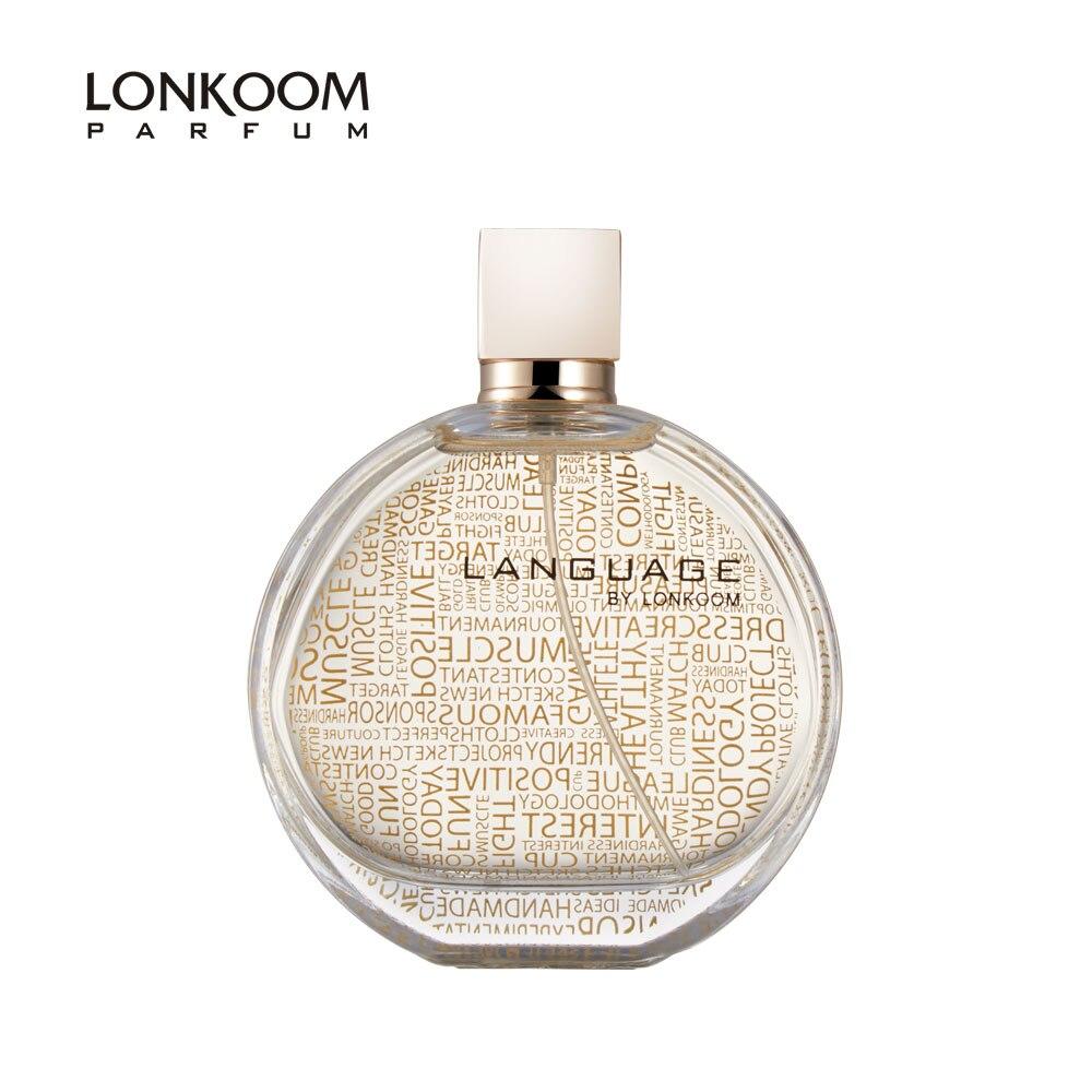 LONKOOM Eau De Parfum LANGUAGE Orental-Floral Women's Perfume Antibacterial Spray Long Lasting Fragrance 100ml Free Shipping