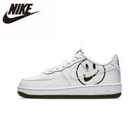 Nike force 1 original pai criança skateboarding sapatos de ginásio crianças confortáveis sapatos de esportes ao ar livre dos homens das sapatilhas|Tênis| |  -