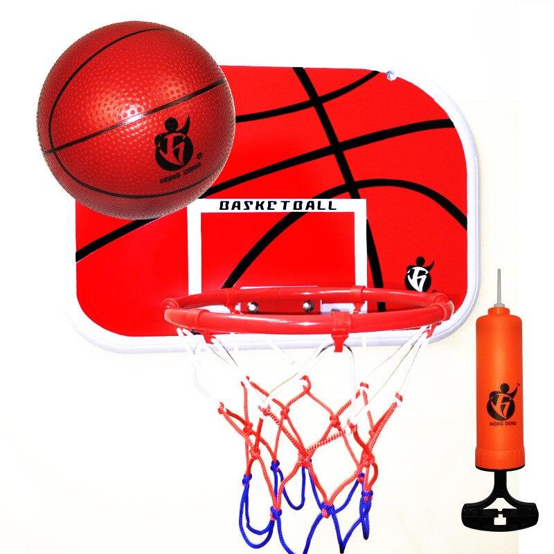 Kids Basketball Indoor Basket Ball For Door Toy Iron Basketball Hoop  Family Basket Game Euquipment Basketball Toy Set For Boys