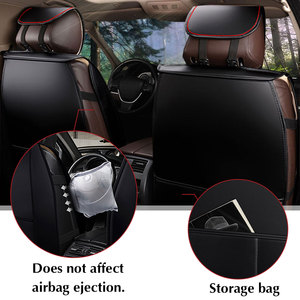 Image 2 - Car Seat Cover PU Leather Cushion Protector SUV for lada VESTA SAMARA for ford FOCUS for tesla Modle 3 Modle X