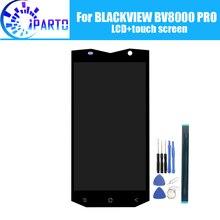 Blackview bv8000 pro display lcd + montagem da tela de toque 100% original novo lcd digitador toque para bv8000 pro