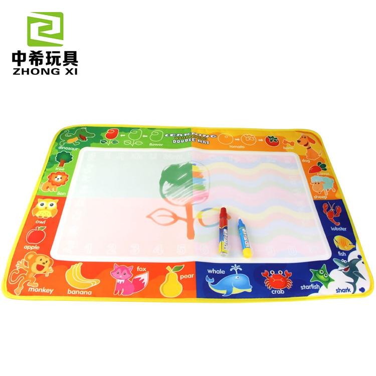 Children Flower Fruit Animal Water Canvas Copy Drawing Book Graffiti Blanket Baby Children'S Educational