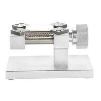 Screw Watch Repair Tool Vise Nutcracker Aluminium Alloy Adjustable Jaw Clamp Craft Clock Sculpture Mini DIY Universal