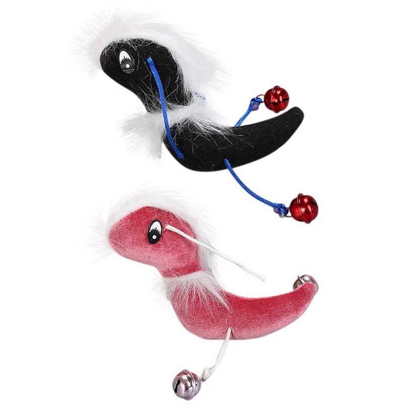 Et القط خدش مضغ أفخم ToysSoft غير سامة هريرة جميلة شكل النمل لعبة مع أجراس لعبة تصدر صوت منتجات القطط ZA