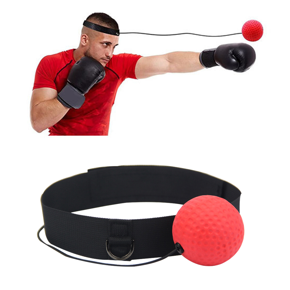 Boxing Fight Reaction Speed Training Ball with Headband For Sports Fitness