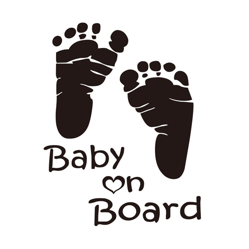 Quality Baby On Board Vinyl Car Graphics Window Vehicle Sticker Decal Decor Auto Funny Stickers 30Ag13 (3)