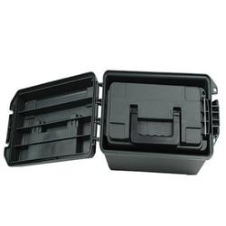 Портативный пластиковый ящик для хранения патронов в стиле милитари, легкий влагостойкий чехол для сухого хранения, ящик для инструментов 6...