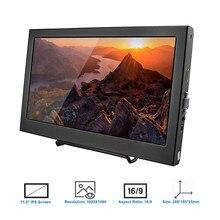 1080P Elecrow 11,6-zoll HD Bildschirm Kompatibel mit PS3 PS4 Xbox360 LED Display Monitor für Raspberry Pi 3 B 2B Windows