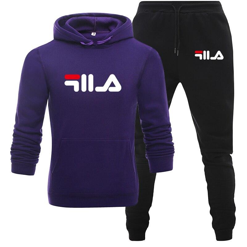 紫色和黑色