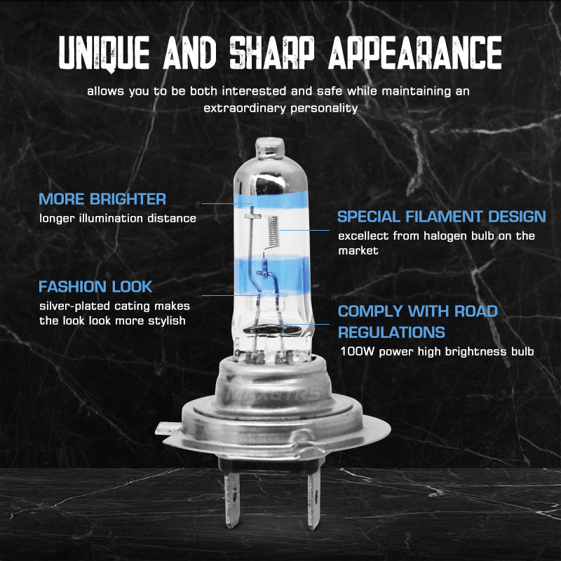 2x100 Вт H1 H7 H8 H11 9005 HB3 9006 HB4 головной светильник HOD Xtreme лампа 4300 К ксенон белый синий Стекло Замена Автомобильный галогенный светильник лампа