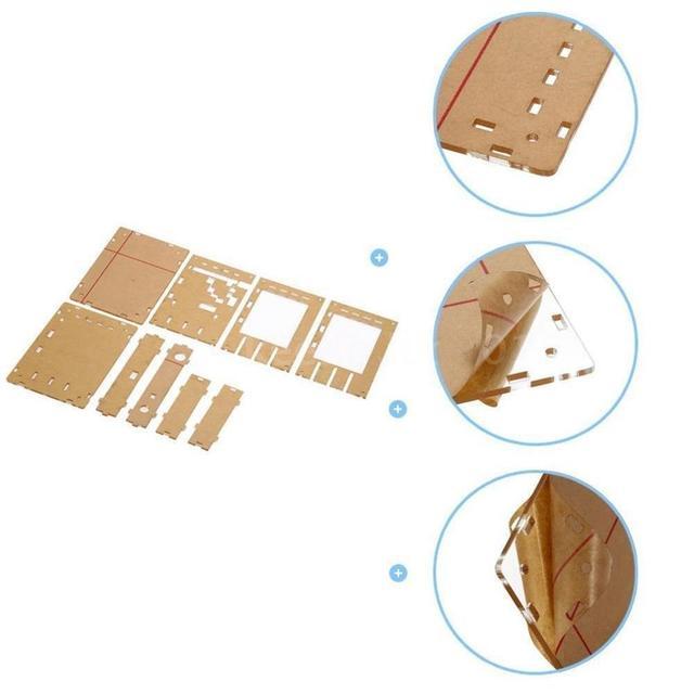 Boîtier en acrylique Portable pour DSO138 2.4