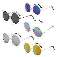 Mirror Sunglasses Round Unisex Women Uv-400-Eyes 6-Styles Candy Vintage New-Fashion