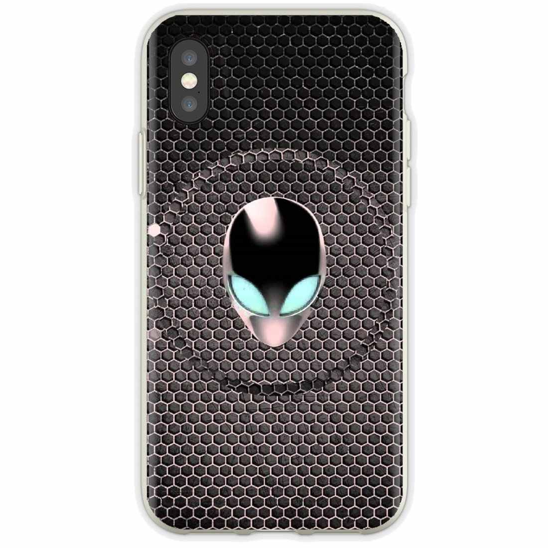 HD Alienware 壁紙サムスンギャラクシー A10 A30 A40 A50 A60 A70 S6 アクティブ注 10 プラスエッジ M30 クラシックシリコーン電話ケース