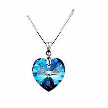Heart Of Ocean Blue Crystal Women Pendant Necklace For Love Gift Female Pendants Necklaces Jewellery. game the legend of zelda cosplay accessories necklace pendants weapons vintage pendants for women man xmas gift