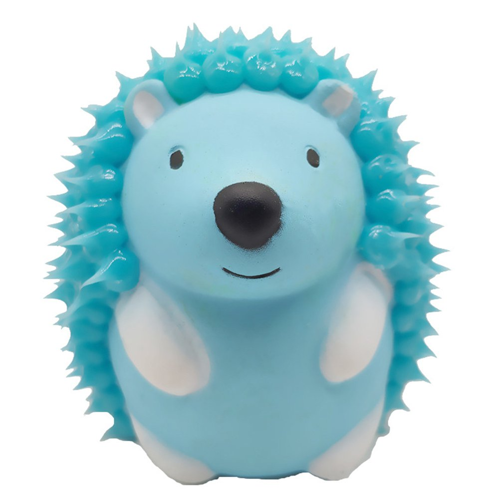 Silicone Brushed Slow Rebound Toy Hedgehog Slow Rebound Squishy Pu A Toy That Squeezes Slowly And Slowly Rebounds