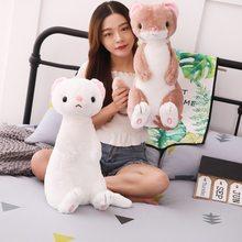 Плюшевые игрушки pluszaki симпатичная кукла хорька милые детские
