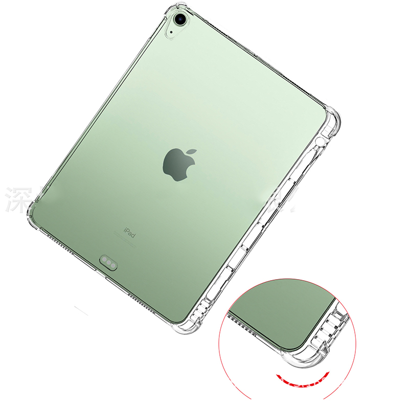 Tablet Transparent Silicone For Soft TPU Air iPad Case Back 4 Shell 10.9 With 2020 Cover