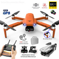 KF102-Dron plegable RC Eders VE58, 6K, cámara HD, 8K, Motor sin escobillas, GPS, 1200m, transmisión de imagen, nuevo de 2021