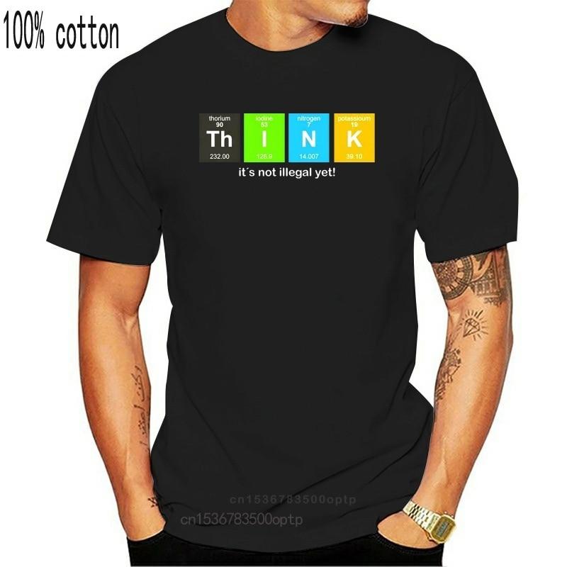 Geek Think-Science-physique-Nerd3 T-Shirt noir homme taille S-Xxl chemise Streetwear t-Shirt décontracté