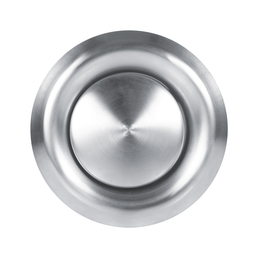 3 Sizes Stainless Steel Air Vent Round Ventilation Duct Cover Round Air Vent Adjustable Wall Ceiling Home