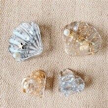 1установите геометрические заколки новый фэнтези ацетат золото серебро фольга женщин девочки сладкий заколки для волос когти аксессуары оголовье