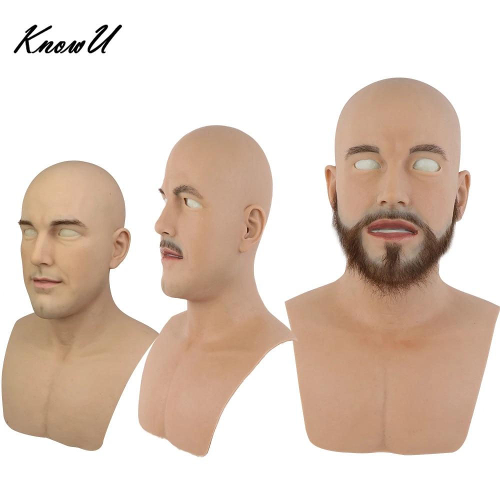 Face man Man to