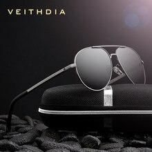 VEITHDIA gafas de sol clásicas polarizadas para hombre, lentes de sol clásicas polarizadas de marca clásica, con recubrimiento, para conducir, para hombre, Wome 2482