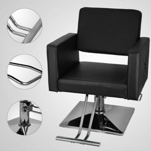 Free Shipping Hydraulic Barber Chair PU Leather Styling Chairs Salon Modern Hairdresser Tattoo Shaving Chair