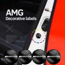 Амортизирующая прокладка для дверей автомобиля, стикер для Benz AMG W108, W124, W126, W140, W168, W169, W176, W177, W203, W204, W205, W210, 4 шт.