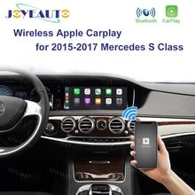 Joyeauto беспроводной Apple Carplay Car play Retrofit S класс 15 19 NTG 5 W222 для Mercedes Android авто зеркальное отображение заднего и переднего см