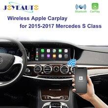 Joyeauto sem fio apple carplay carro jogar retrofit s classe 15 19 ntg 5 w222 para mercedes android espelho automático frente traseira cm