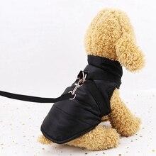 Хлопковый жилет для собаки куртка демисезонная одежда для домашних животных Одежда для собак взрывозащищенные Водонепроницаемый XS-XXL пальто для малых и средних собак собаки чихуахуа