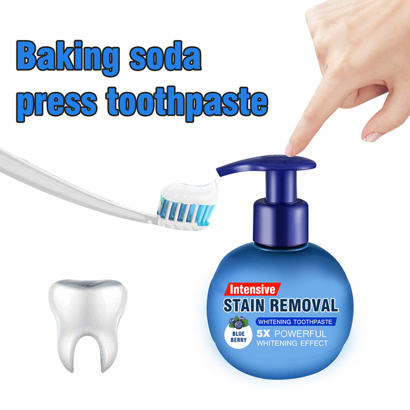 Magical Soda Whitening Toothpaste Teeth Whitening Cleaning Hygiene Oral Care Passion Fruit  Fight  Bleeding Gums More Option 1