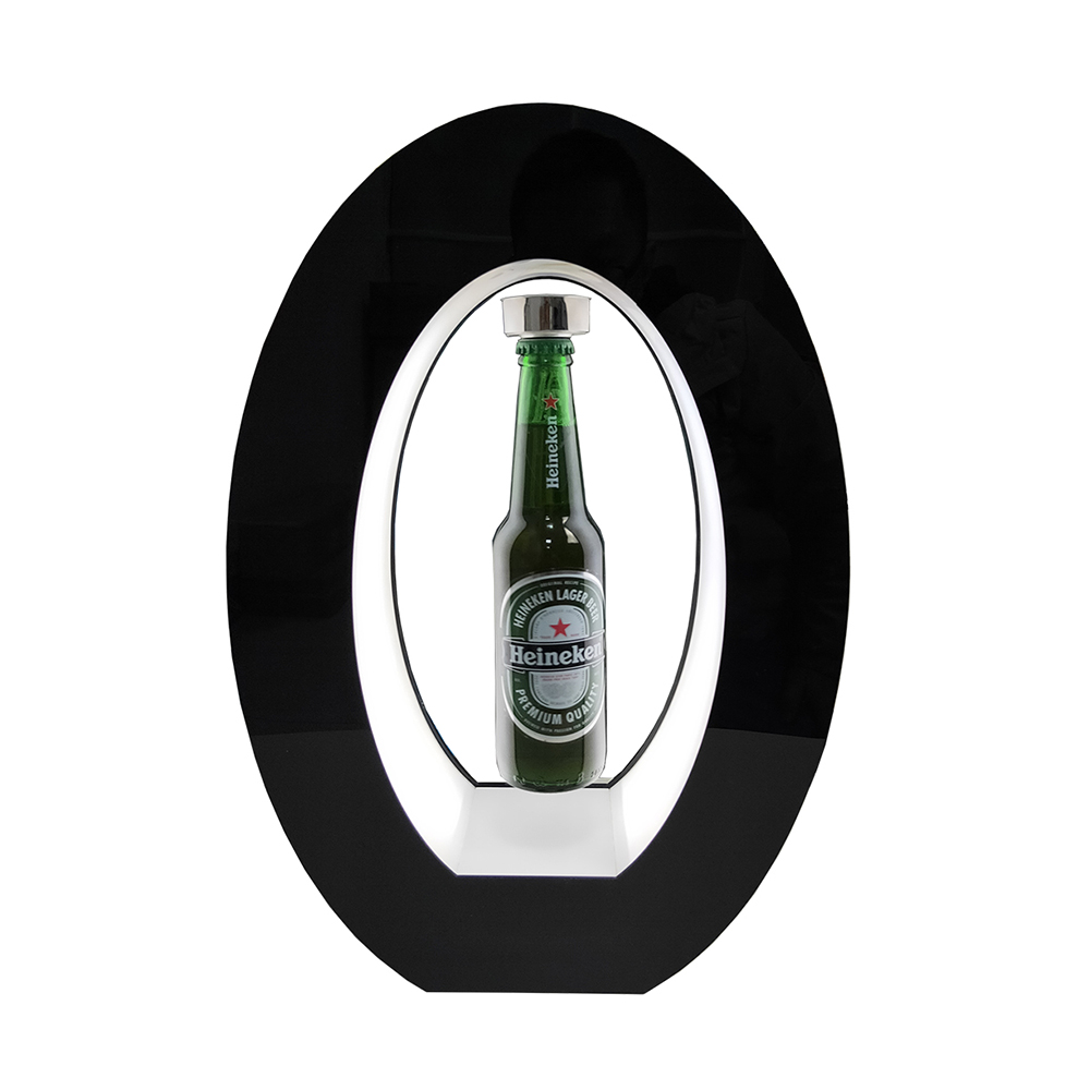 Magnetic Levitation Floating  Beer Wine Perfume Bottle Or Gedgets With Iron Cover ,holds 400g Weight,levitation Gap 16mm