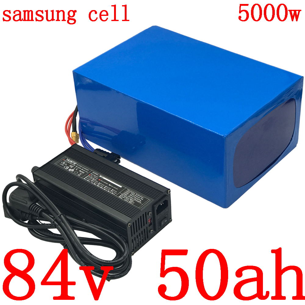 84V battery 84V <font><b>electric</b></font> <font><b>bicycle</b></font> battery 84V 3000W <font><b>5000W</b></font> <font><b>electric</b></font> scooter battery 84V 40AH lithium battery pack use samsung cell image