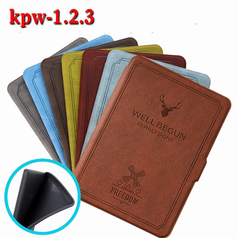 Мягкий чехол Kindle Paperwhite для Kindle Paperwhite 3/2/1 с автоматическим режимом сна/пробуждения для Kindle Paperwhite 2017/2015/2013/2012