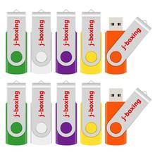 J Boksen 10 Stuks Usb Flash Drives Metalen Pendrive 512 Mb 256 Mb 128 Mb 64 Mb Kleine Capaciteit flash Disk Cle Usb 2.0 Memory Stick Voor Pc