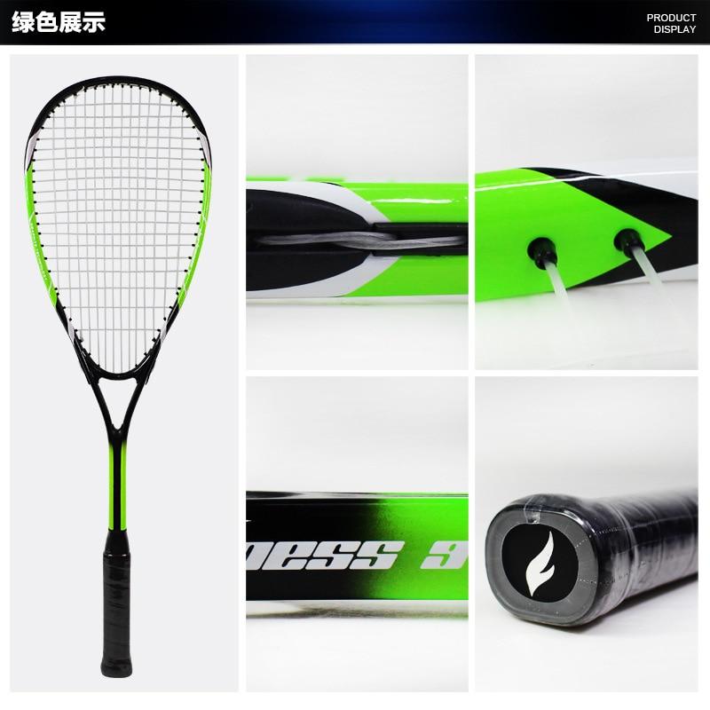 Ultralight Beginner Training Squash Racket Aluminum Alloy Racquetball Racket Adult Children Leisure Sports Equipment