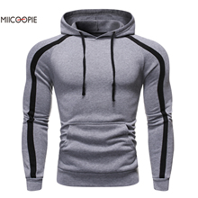 Miicoopie 2019 New Arrival Mens Hoodies Fashion Autumn Pullover Sweatshirt Street Wear